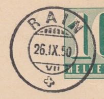 LU    RAIN  -  SCHOENER STEMPEL - Marcophilie