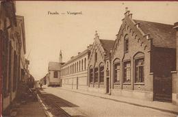 Zele. Voorgevel Facade Pensionnat Des Soeurs De Notre-Dame. Kostschool Van Der Zusters Van O.L.Vrouw - Zele