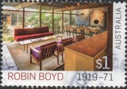 2019 AUSTRALIA ROBIN BOYD VERY FINE POSTALLY USED $1 STAMP - Oblitérés