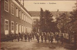 Zele Speelplaats Cour De Recreation Pensionnat Des Soeurs De Notre-Dame. Kostschool Van Der Zusters Van O.L.Vrouw - Zele