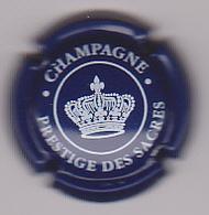 Capsule Champagne PRESTIGE DES SACRES ( 27 ; Bleu-nuit Et Blanc ) {S01-20} - Champagne