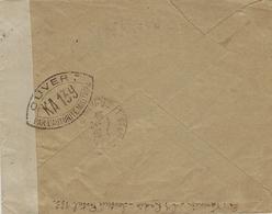 1939- Enveloppe En F M  ,censure Française K A  139  Pour St Mars La Jaille ( L. Atl. ) - Postmark Collection (Covers)