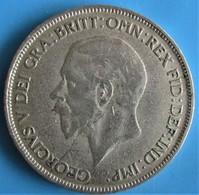 Royaume-Uni, Georges V, Métal Blanc, 1 Penny, 1928, TB - D. 1 Penny