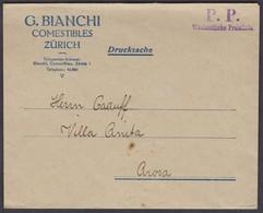 ZH   P.P. WOECHENTLICHE PREISLISTE  /  BIANCHI ZÜRICH - Briefe U. Dokumente