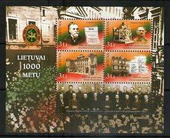 LITUANIE 2007 MILLENAIRE DE LA LITUANIE  YVERT N°B35  NEUF MNH** - Lithuania