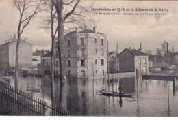 94 - Val De Marne  - MAISONS ALFORT - Inondations 1910 - Carrefour Des Rues Pasteur Et Du Parc - Maisons Alfort