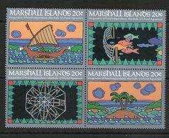 MARSHALL 1984 INDEPENDANCE  YVERT N°41/44  NEUF MNH** - Marshall