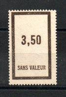 A198  France Fictif N° F43 ** - Phantomausgaben