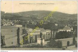 71. CHAUFFAILLES . Usine Des Etangs Et Le Chateau . - Francia