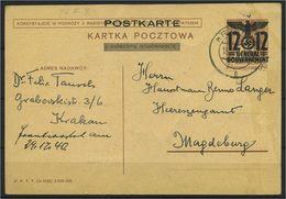 GENERALGOUVERNEMENT 1940, Nr P7F (96581) - Besetzungen 1938-45