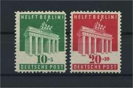 BIZONE 1948 Nr 101-102 Postfrisch (115802) - Bizone