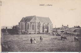 AISNE CHOUY L EGLISE - Frankrijk