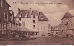 AVEYRON MUR DE BARREZ LA PLACE ET LA TOUR - Francia