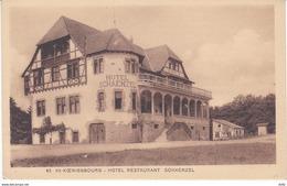 HAUT RHIN HAUT KOENIGSBOURG HOTEL RESTAURANT SCHAENZEL - France