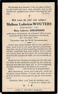 Austruweel, Ekeren, 1933, Matheus Wouters, Adriaenssens - Devotieprenten