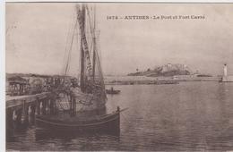 ALPES MARITIMES - 1974 - ANTIBES - Le Port Et Le Fort Carré - Antibes