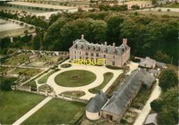 56 La Gacilly, Le Chateau De La Forêt Neuve, Belle Vue Aérienne - La Gacilly