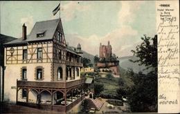 Cp Trier In Rheinland Pfalz, Hotel Werner, Burg Ramstein - Allemagne
