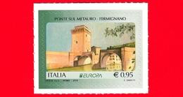 Nuovo - MNH - ITALIA - 2018 - Europa - Ponte Sul Metauro - Fermignano (PU) - 0,95 - 2011-...: Mint/hinged
