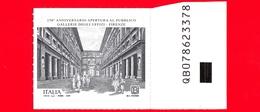Nuovo - MNH - ITALIA - 2019 - 250 Anni Delle Gallerie Degli Uffizi (Firenze) – Loggiato - B - Alfanumerico - 2011-...: Ungebraucht