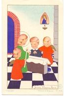Devotie - Devotion - Communie Communion - Dirk Van Maelsaeke - Louise Marie 1945 - Illustr James Pennyless - Communion