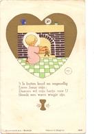 Devotie - Devotion - Communie Communion - Annie Van Maelsaeke - Louise Marie 1945 - Communion