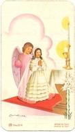 Devotie - Devotion - Communie Communion - Gisèle Cantaert - Sancta Maria Te Ronse 1949 - Communion