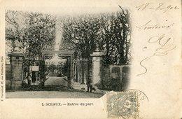 92 .20719 . Sceaux . Entree Du Parc .vue D Ensemble . - Sceaux