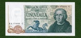 MB-IT 5000 Cristoforo Colombo 3 Caravelle Decr 20-05-1971 SPL - [ 2] 1946-… : Repubblica