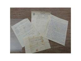 Acte Napoleon 1854 Soppe Le Bas Bergholtz Zell 1954/1757-24 Lab22 - Andere Sammlungen