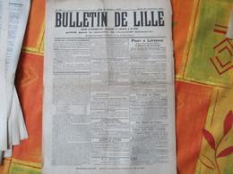 23 SEPTEMBRE 1915 BULLETIN DE LILLE  JOURNAL PUBLIE SOUS LE CONTRÔLE DE L'AUTORITE ALLEMANDE COMITE D'ALIMENTATION DU NO - 1914-18
