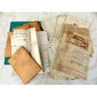 Papiers Factures Brasserie Lutterbach Lot 1938 A 1946 - Non Classés
