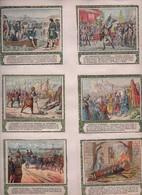 CHROMO Collée Sur Support Cartonné Histoire De France Napoléon Clovis Vercingétorix Charles Martel (93 Chromos) - Chromo
