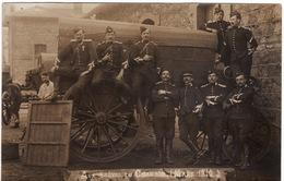 42 CARTE PHOTO **Aux Grèves Du Chambon (mars 1910)** 2 Scans (grèves Des Mineurs) - Le Chambon Feugerolles