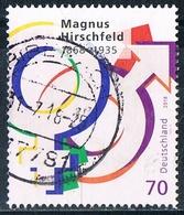 2018  150. Geburtstag Von Magnus Hirschfeld - Usati