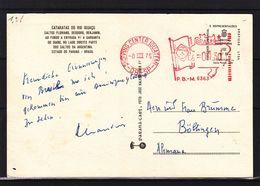 Brésil - Carte Postale De 1975  - Oblit Shopping Center Iguatemi - EMA - Empreintes Machines - Brésil