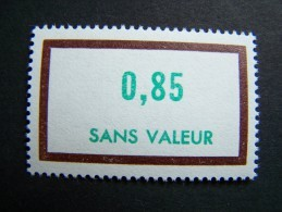 FICTIFS NEUF ** N°F198 SANS CHARNIERE (FICTIF F 198) - Phantom