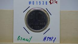 Brazil 10 Cruzeiros 1984 Km#592.1 - Brasilien