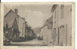 MONESTIER-DE-CLERMONT   ( ISÈRE )  GRANDE RUE - Otros Municipios