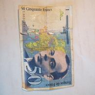 Billet 50 Francs Saint Exupéry - 1992-2000 Ultima Gama
