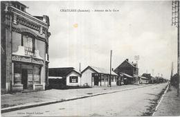 CHAULNES: AVENUE DE LA GARE - Chaulnes