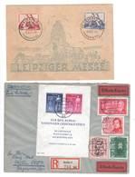 DDR , Leipziger Messe Sonderstempelkarte Und Brief Mit Block 11 - [6] Democratic Republic