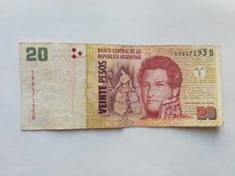 ARGENTINA 20 PESOS 2003 - Argentina