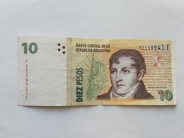 ARGENTINA 10 PESOS 2003 - Argentina