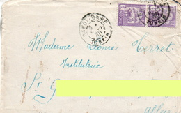 "L- "" Hanoï Gare- Tonkin ""- - Storia Postale"