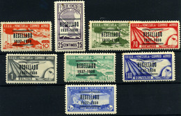 Venezuela Nº 66/73. Año Nº 1938- Aéreos - Venezuela