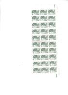 Coin Daté Du N° 2178 Type Liberté 5c Vert Noir Accompagné De 26 Autres Timbres - Ecken (Datum)