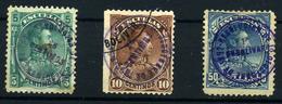Venezuela Nº 48/9 Y 51. Año Nº 1892- Fiscales - Venezuela