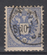 OOSTENRIJK - Michel - 1883 - Nr 47 D (T/D 10 1/2) - Gest/Obl/Us - Used Stamps