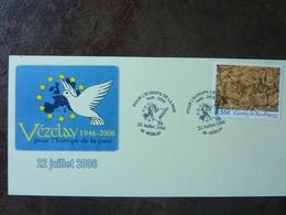 2006  VEZELAY  Oblitéré - Covers & Documents